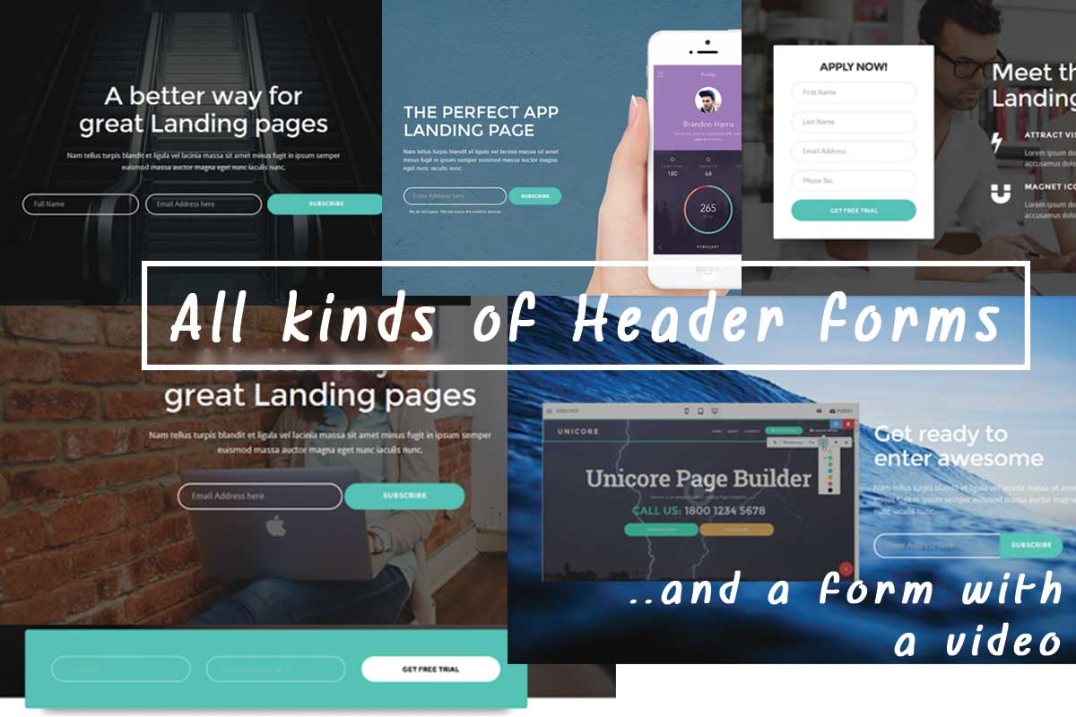 Simple Bootstrap Landing Page Theme Download