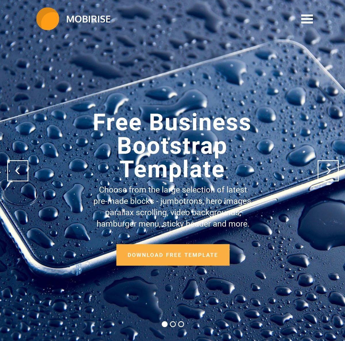 Mobile Responsive Website Templates Themes Extensions