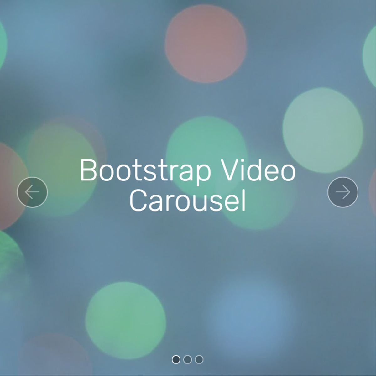 Mobile Bootstrap Illustration Slider