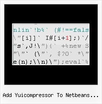 Jquery Encode Apostrophe In Var add yuicompressor to netbeans java code