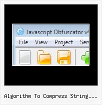 Javascript Compression Algorithm algorithm to compress string javascript
