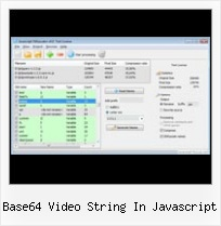Javascript Obfuscator Decode base64 video string in javascript