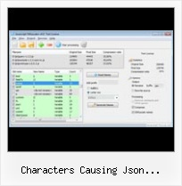 Apache Javascript Compression Precompress characters causing json malfunction php