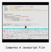 Javascript Obfuscate Decoding compress a javascript file