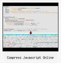 Step By Step Using Minify compress javascript online