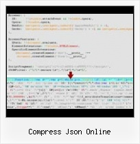 Yui With Servlet compress json online