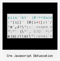 Pack Js File crm javascript obfuscation