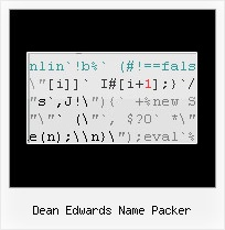 Javascript Obfuscator Enterprise dean edwards name packer