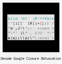 Javascript Quot Decode decode google closure obfuscation