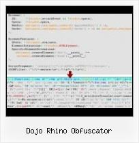 Dojo Rhino Obfuscator - Javascript Obfuscator