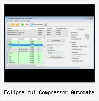 Javascript Obfuscation Using Perl eclipse yui compressor automate