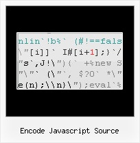 Minifier Obfuscator Online encode javascript source