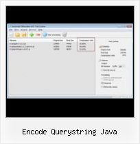 How To Compress Javascript File encode querystring java