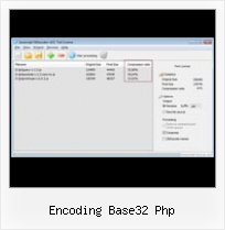 Packer Decode encoding base32 php