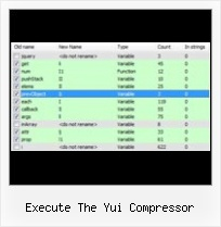 Protect Js File execute the yui compressor