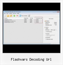 Javascript Decrypt Packer flashvars decoding url