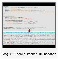 Visual Studio 2010 Compressor For Javascript And Css google closure packer obfuscator