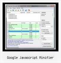 How To Compress With Yui And Gzip google javascript minifier