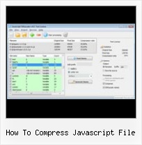 Javascript Encodeuri Source Code how to compress javascript file