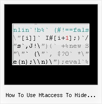 Dean Edwards Packer Disabled how to use htaccess to hide javascript from view source