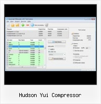 Compress Cookies Javascript Php hudson yui compressor