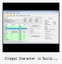 Js Packer illegal character js build openlayers