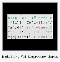 Hesitated When Gzip installing yui compressor ubuntu