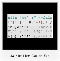 Obfuscator Decode ja minifier packer exe