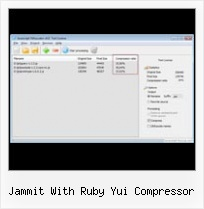 Using Yui Compressor In Java Web Project jammit with ruby yui compressor