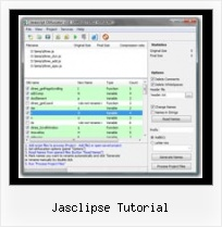 Jsmin Ruby jasclipse tutorial