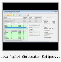 Tutorial Google Minify java applet obfuscator eclipse site informer com