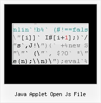 Obfuscation Netbeans Cannot Rename Class Name java applet open js file