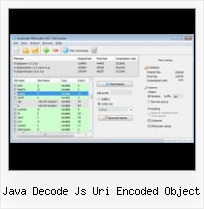 Jsmin Py Howto java decode js uri encoded object