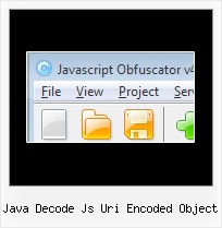 Javascript Obfuscator Mac java decode js uri encoded object