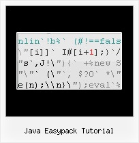 Obfuscate Online Decode java easypack tutorial