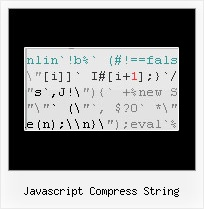 Jquery Compressed Tool javascript compress string
