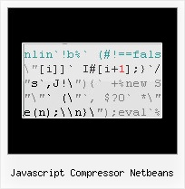 Coldfusion Code Minifier Without Yui javascript compressor netbeans