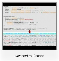 Java Filter Javascriptcompressor javascript decode