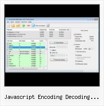 Get Querystring Obfuscate Javascript javascript encoding decoding online