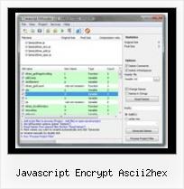 Javascript Encrypt Ascii2hex - Javascript Obfuscator