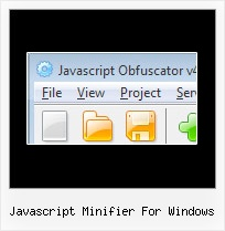 Lazyload Mini J javascript minifier for windows