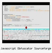 Yui Compressor Doesn T Obfuscate javascript obfuscator sourceforge