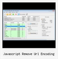 Jquery Encrypter javascript remove url encoding