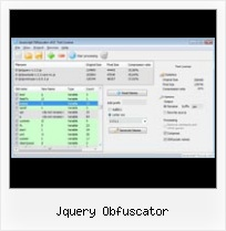 Js Compress String jquery obfuscator