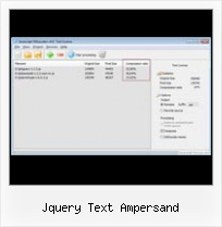 Rails Asset Manager Jsmin jquery text ampersand