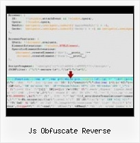 Javascript Obfuscation Ant js obfuscate reverse