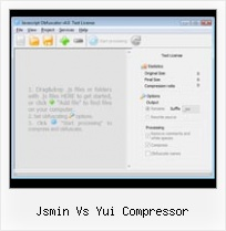 Encoding Ampersand In Url Hyperlink jsmin vs yui compressor
