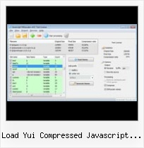 Yui Ant Compress Js Css load yui compressed javascript files test