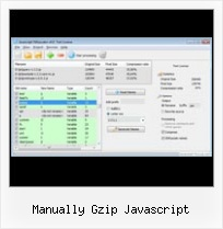 Decode Javascript Compress manually gzip javascript