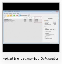 Prototype Compress Code mediafire javascript obfuscator